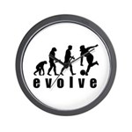 Evolve Bowling Wall Clock