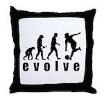 Evolve Bowling Throw Pillow