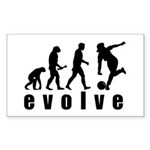 Evolve Bowling Sticker (Rectangle)