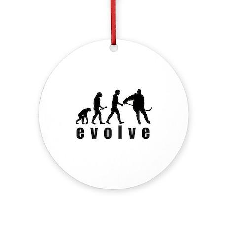 Evolve Hockey Ornament (Round)