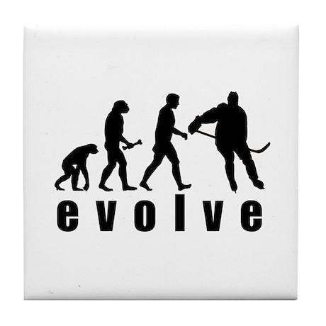 Evolve Hockey Tile Coaster