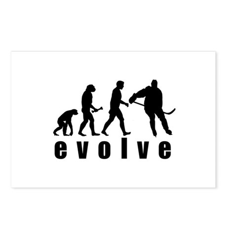 Evolve Hockey Postcards (Package of 8)