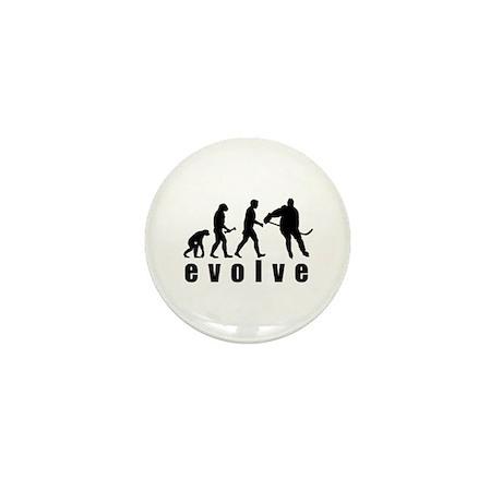 Evolve Hockey Mini Button
