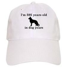 85 birthday dog years german shepherd black 2 Base
