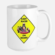 Kart Racer On Board Mugs