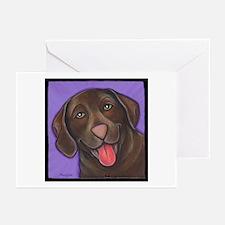 Chocolate Lab Greeting Cards (Pk of 10)