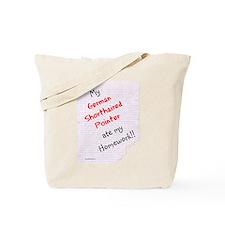 GSP Hoemwork Tote Bag