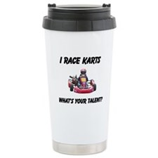 I Race Karts Travel Mug