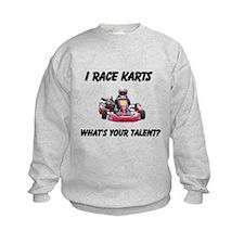 I Race Karts Sweatshirt