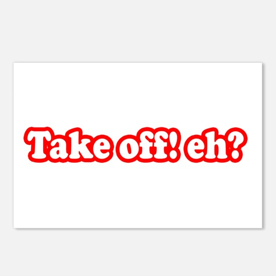 Take Off Eh? Postcards (Package of 8)