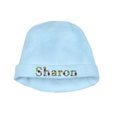 Sharon Bright Flowers baby hat