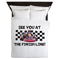 Finish Line Queen Duvet