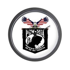 POW-MIA Wall Clock