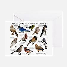 Backyard Birds of the Bay Area Greeting Card