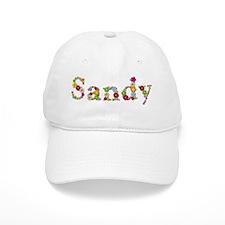 Sandy Bright Flowers Baseball Baseball Cap