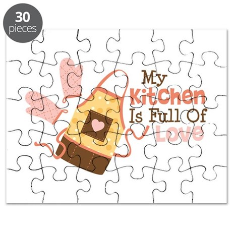 My Kitchen Is Full Of Love Puzzle