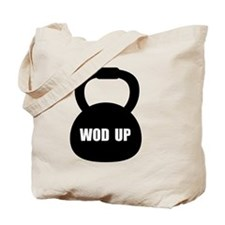 WOD Up Cross Fit  Tote Bag