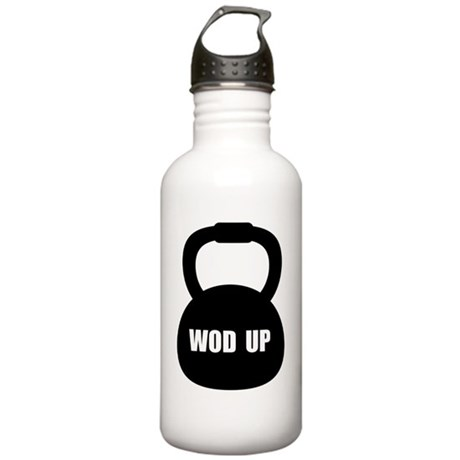 WOD Up Cross Fit Stainless Water Bottle 1.0L