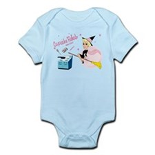 "Organic ""Bewitched"" Baby Girl's Bodysuit"