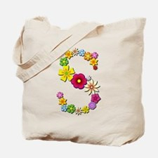 S Bright Flowers Tote Bag