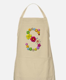 S Bright Flowers Apron