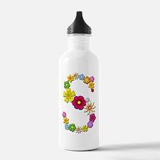 S Bright Flowers Water Bottle