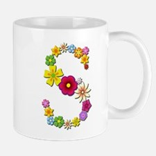 S Bright Flowers Mugs