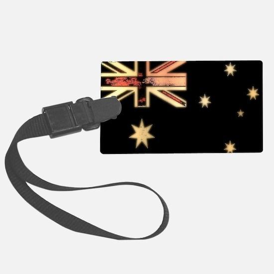 Aussie Rad Flag Luggage Tag