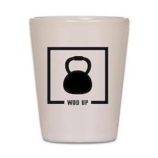 WOD Up Cross Fit  Shot Glass