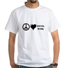 Peace,Love,Social Work Shirt