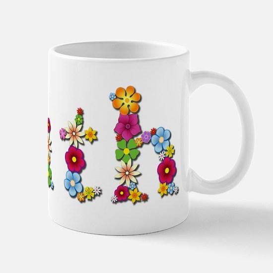 Ruth Bright Flowers Mugs