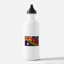 Rainbow Australian Flag Sports Water Bottle