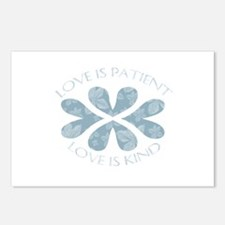 Love is Patient Hearts Postcards (Package of 8)