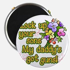 daddysgotguns Magnet
