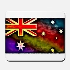 Rainbow Australian Flag Mousepad