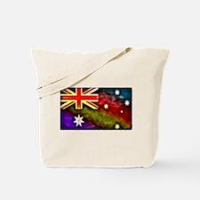 Rainbow Australian Flag Tote Bag