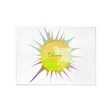 Believe sunburst 5'x7'Area Rug