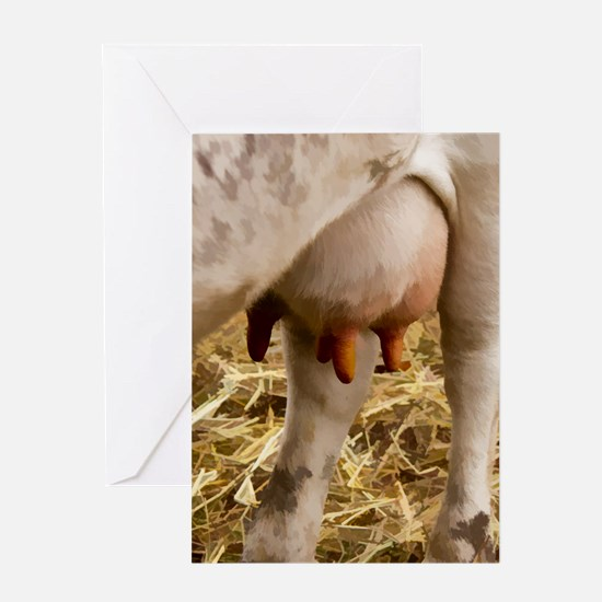 Dairy Cow Card Greeting Cards