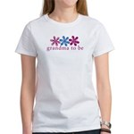 3 flower-grandma to be Women's T-Shirt