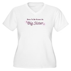 Soon To Be Big Sister T-Shirt