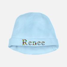 Renee Bright Flowers baby hat