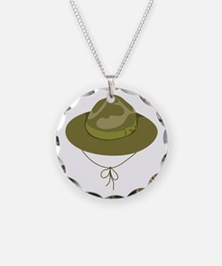 Scout Hat Necklace