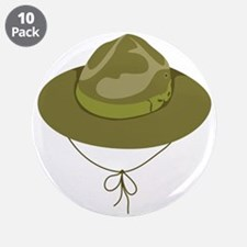 "Scout Hat 3.5"" Button (10 pack)"