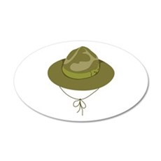 Scout Hat Wall Decal