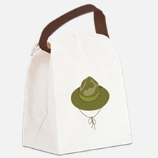 Scout Hat Canvas Lunch Bag
