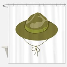 Scout Hat Shower Curtain