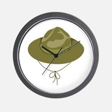 Scout Hat Wall Clock