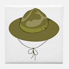 Scout Hat Tile Coaster