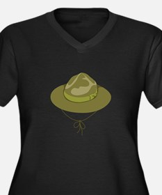 Scout Hat Plus Size T-Shirt
