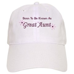 Soon To Be Great Aunt Baseball Cap